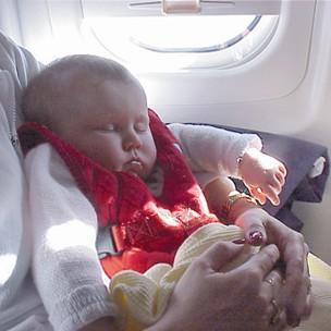 Baby Air Vest - in flight security