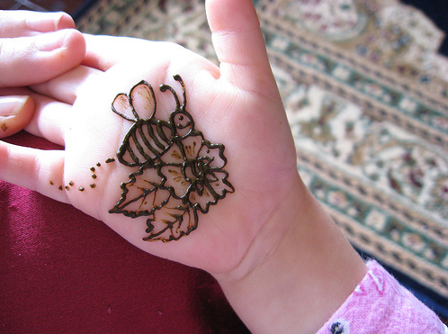 Kids Mehndi Designs 2011