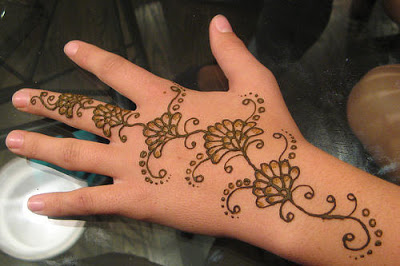 Simple Arabic Mehndi Designs For Kids