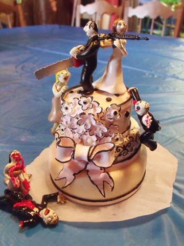 Unique wedding Cake (22)