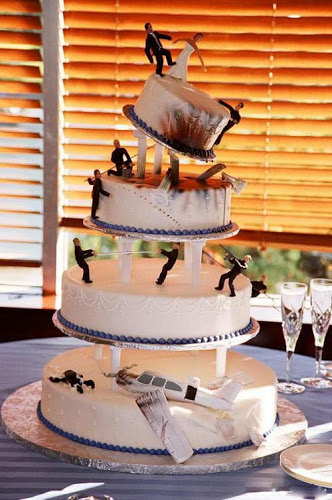 Unique wedding Cake (4)