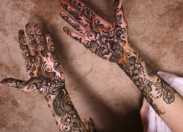 arabic mehndi designs full hand