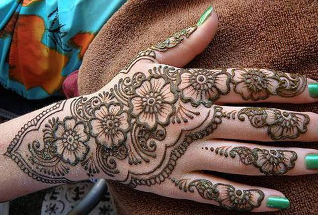 Mehndi Designs Please : Bridal mehndi designs urdu magazine arabic