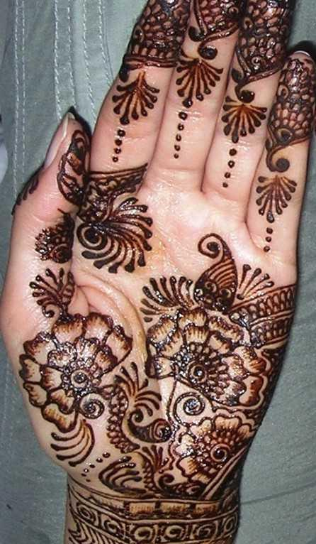 arabic mehndi designs_