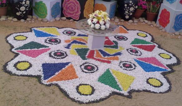best rangoli competition
