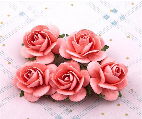 Роза из крепированной бумаги своими руками видео 82