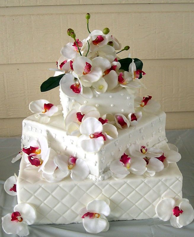Wedding Anniversary Cake Design Ideas : Wedding Cake Ideas - Cathy