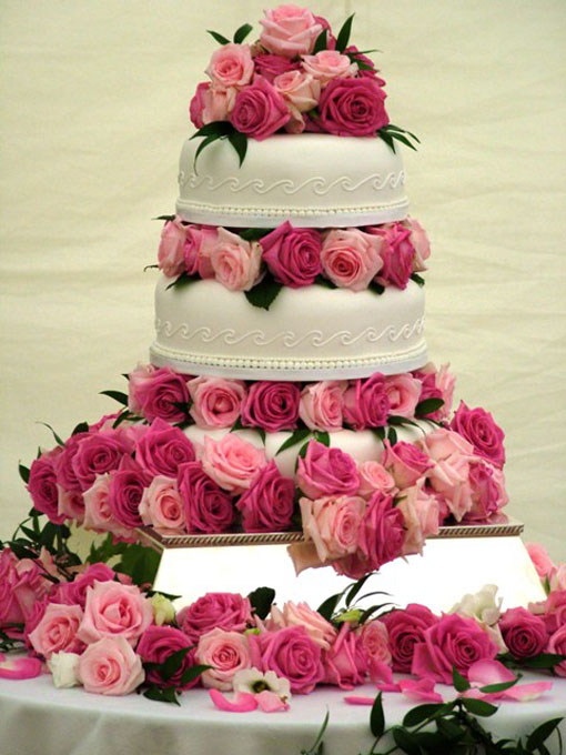 Cake Decorations And Ideas : wedding-cake-decorations - Cathy