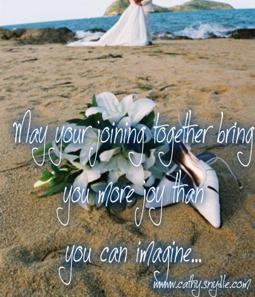 wedding message
