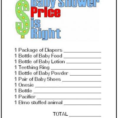 Baby Shower Foreign Language Game  Free Printable