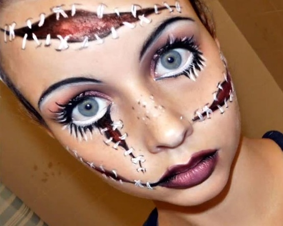 cool makeup halloween  Cathy - Cool And Easy Halloween Makeup