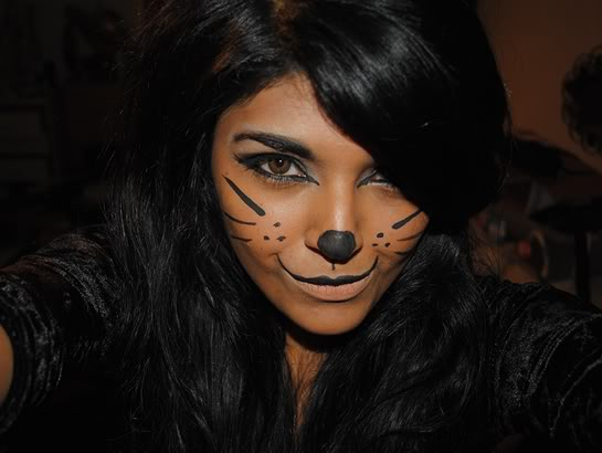 Scary Halloween Makeup Ideas  Cathy - Simple Halloween Makeup