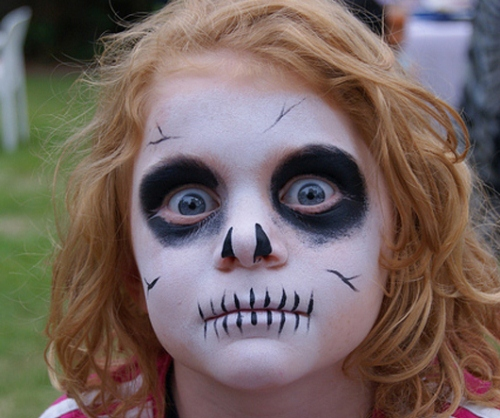 halloween makeup for children
