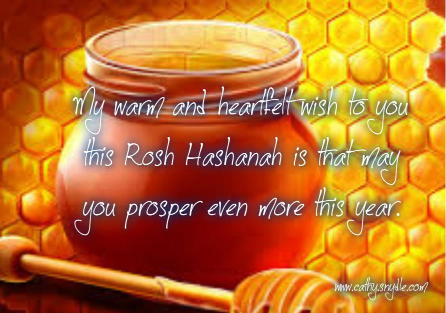 Happy Rosh Hashanah Cathy