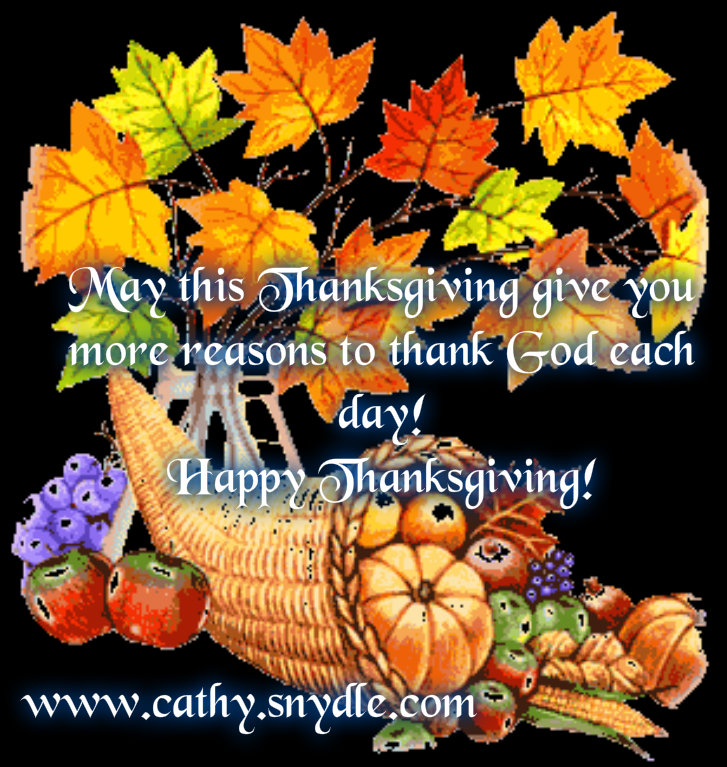Happy Thanksgiving Quotes, Wishes and Thanksgiving Messages - Cathy