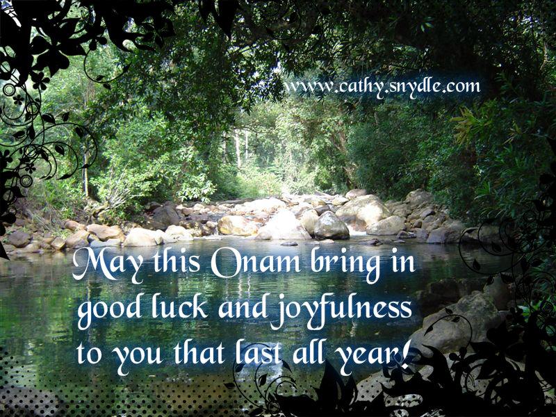 onam wishes 2013