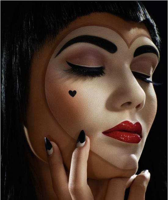 pretty halloween makeup ideas