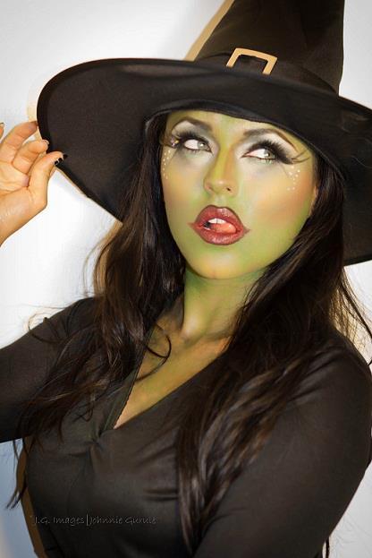 Scary Halloween Makeup Ideas - Cathy