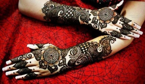 Arabic-Mehndi-Designs-for-Brides