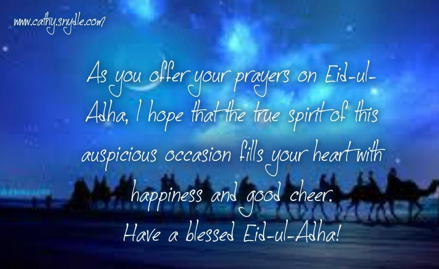 Eid al adha greetings wishes and eid ul adha mubarak cathy eid ul adha wishes m4hsunfo