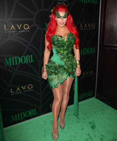 poison ivy halloween-costume