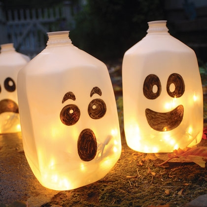 spirit jug halloween decor