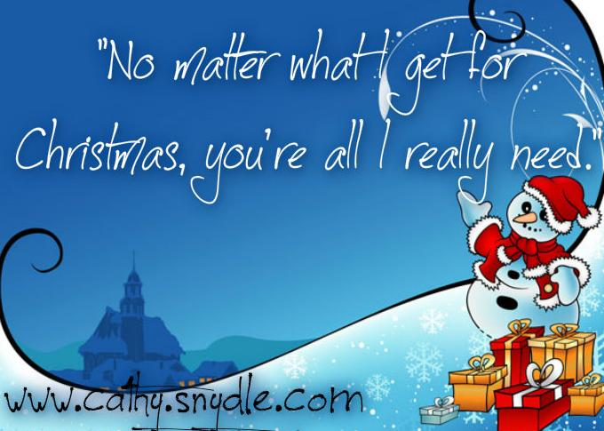 Best Christmas Quotes - Cathy