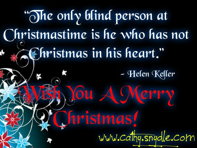 Free Christmas Quotes And Sayings Cathy