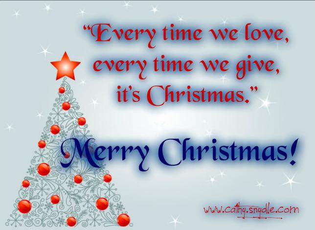 The 45 Best Inspirational Merry Christmas Quotes Of All: Free Christmas Quotes And Sayings