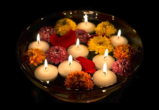 Diwali Floating Candle Decoration I