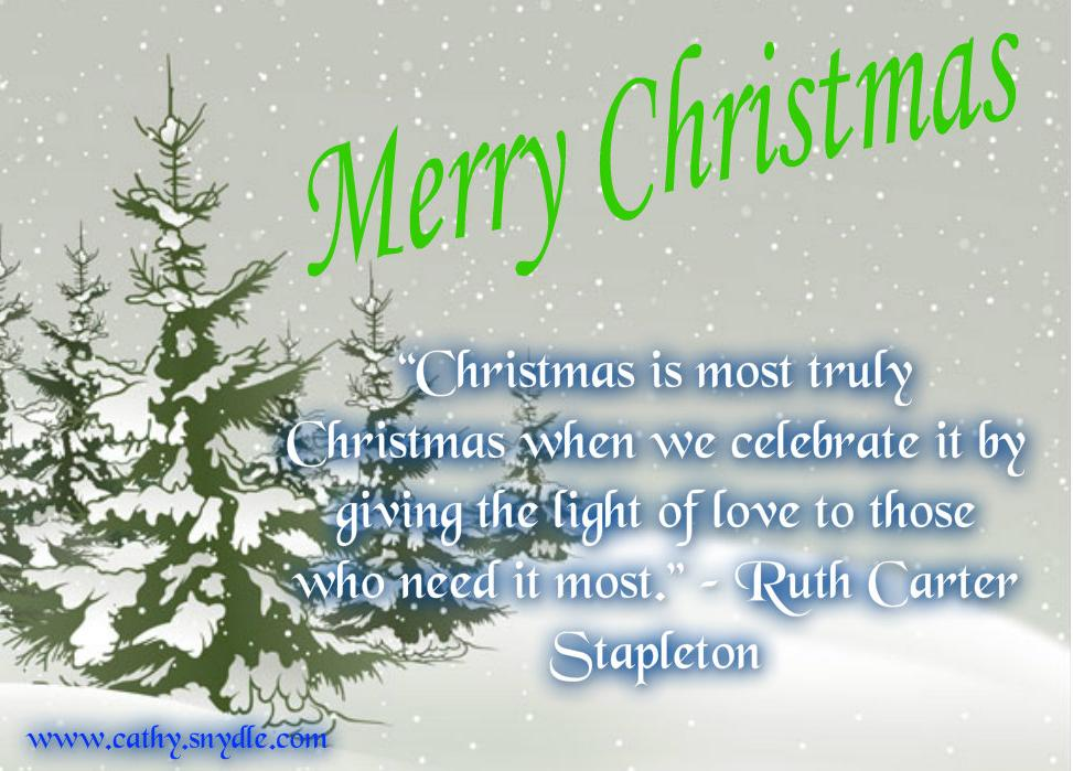 The 45 Best Inspirational Merry Christmas Quotes Of All: Christmas Quotes For Kids