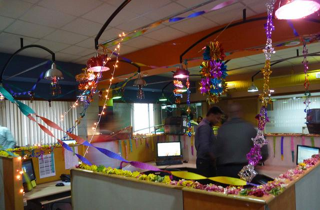 Diwali Decorations For Office