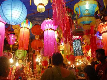 Diwali Lanterns India Decorations