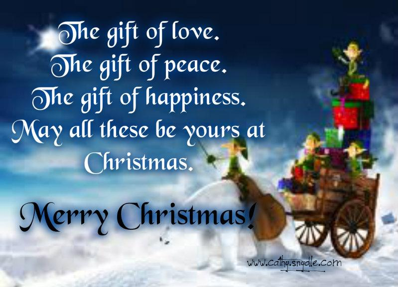 Christmas Wishes, Messages And Christmas Greetings