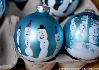 hand print christmas crafts