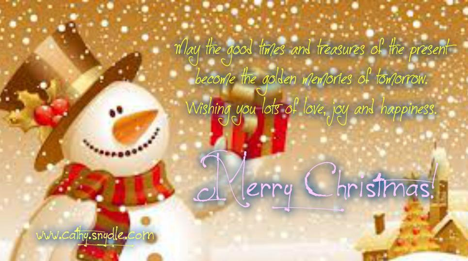 Christmas Wishes, Messages and Christmas Greetings - Cathy
