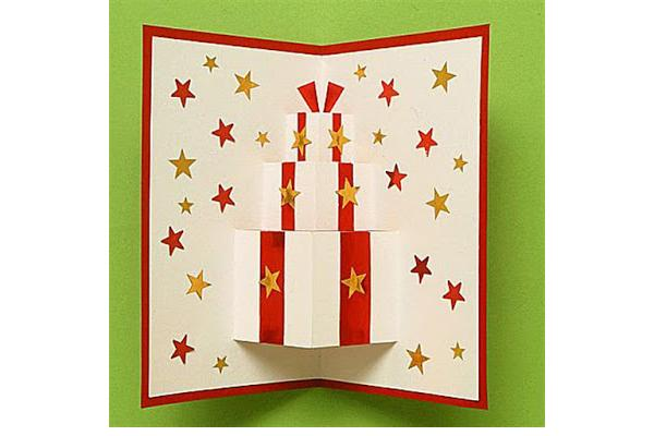 How to Make Homemade Christmas Cards - Cathy