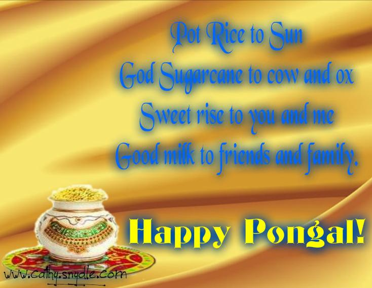 Pongal Greetings Images