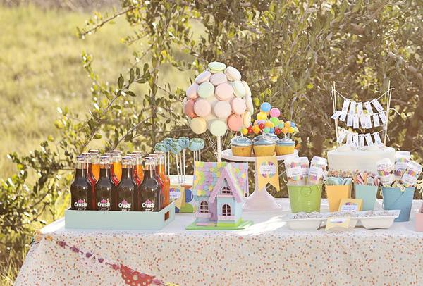 1st Birthday Party Themes for Girls2