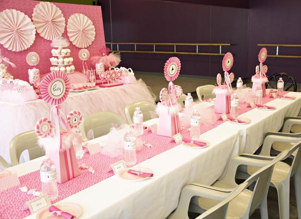 3rd Birthday Party Themes for Girls