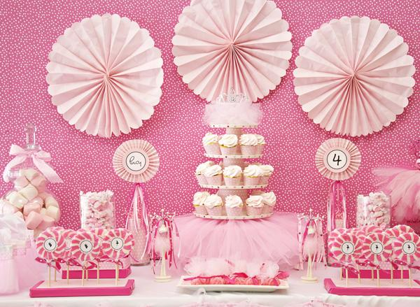 Girls Birthday Party Themes on birthday cupcake ideas