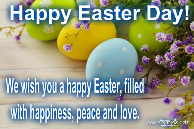 Happy Easter Greetings Wishes and Easter Greetings Messages Cathy – Easter Messages for Cards