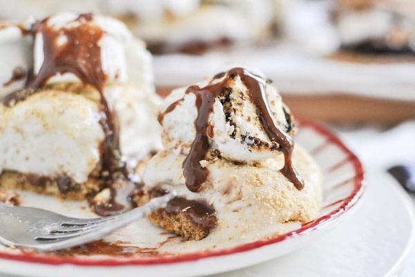 s mores cake recipe