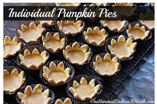 Canned Pumpkin Dessert Recipes1