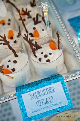 Food Ideas for Frozen Themed Party