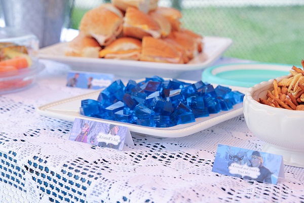 Frozen Party Ideas Food