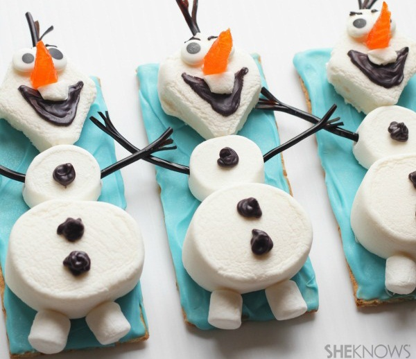 Frozen Themed Birthday Party Food Ideas