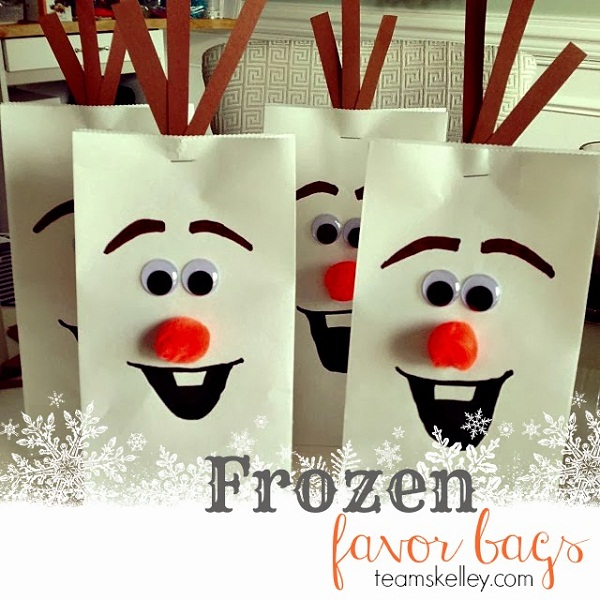frozen party favor ideas