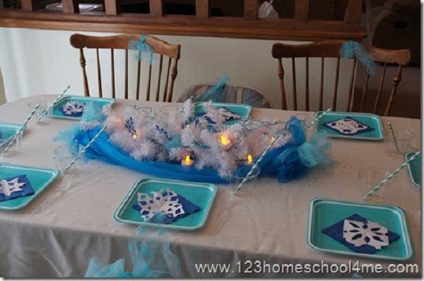 frozen party theme ideas_