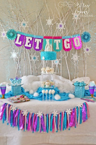 frozen party theme1